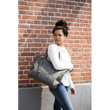 Bolso Maternidad Paris Grey...