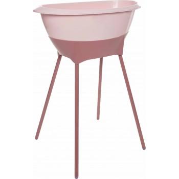 Set de baño Luma Rosa bañera con patas